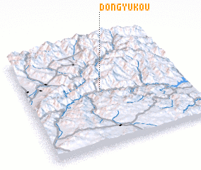 3d view of Dongyukou