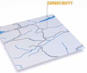 3d view of Zamanchivyy