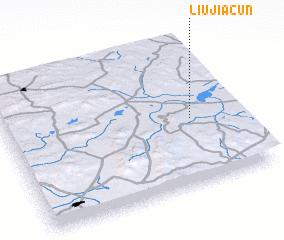 3d view of Liujiacun
