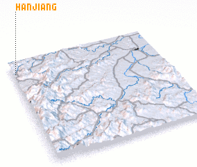 3d view of Hanjiang
