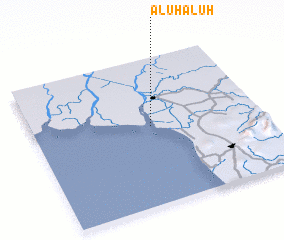 3d view of Aluhaluh