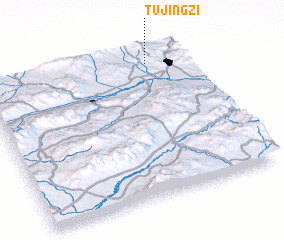 3d view of Tujingzi