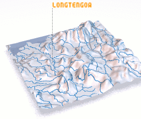 3d view of Long Tengoa