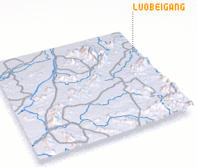 3d view of Luobeigang