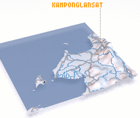 3d view of Kampong Lansat