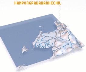 3d view of Kampong Padawan Kechil