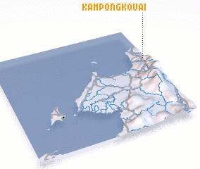 3d view of Kampong Kouai
