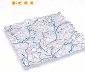 3d view of Xiaoshuihu