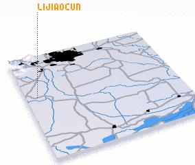 3d view of Lijiaocun