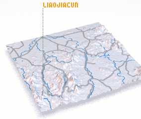 3d view of Liaojiacun