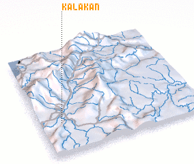 3d view of Kalakan