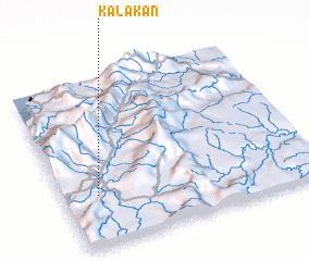 3d view of Kalakan