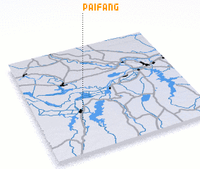 3d view of Paifang