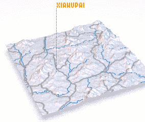 3d view of Xiawupai