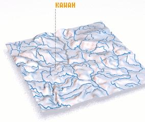 3d view of Kawah