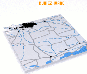 3d view of Ruihezhuang