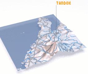 3d view of Tandok