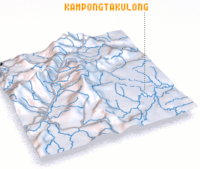 3d view of Kampong Takulong
