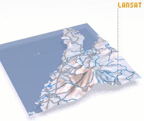 3d view of Lansat