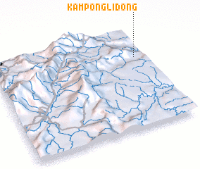 3d view of Kampong Lidong