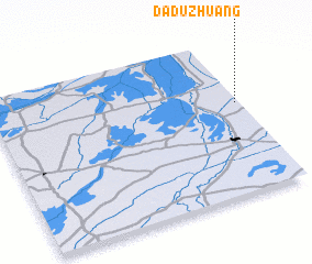 3d view of Daduzhuang