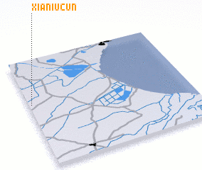 3d view of Xianiucun