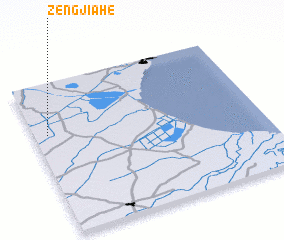3d view of Zengjiahe
