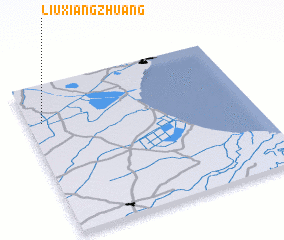 3d view of Liuxiangzhuang