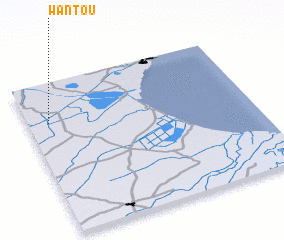 3d view of Wantou