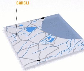 3d view of Gangli