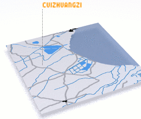 3d view of Cuizhuangzi