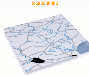 3d view of Sigaozhuang