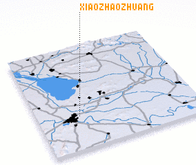 3d view of Xiaozhaozhuang