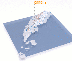 3d view of Canomy