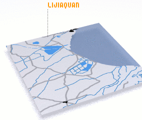 3d view of Lijiaquan
