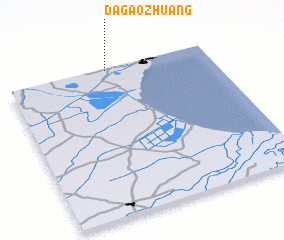 3d view of Dagaozhuang