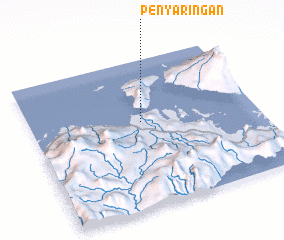 3d view of Penyaringan