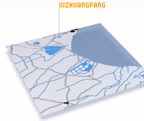 3d view of Xizhuangfang