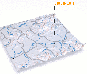 3d view of Liujiacun