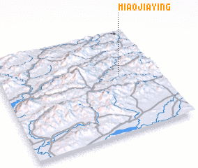 3d view of Miaojiaying