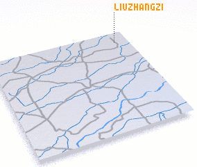 3d view of Liuzhangzi