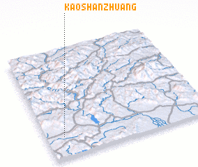 3d view of Kaoshanzhuang