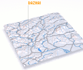 3d view of Dazhai