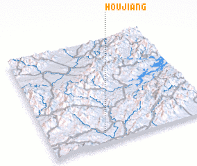 3d view of Houjiang