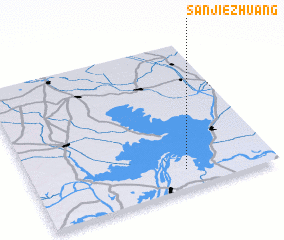 3d view of Sanjiezhuang