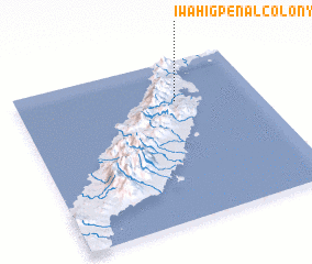 3d view of Iwahig Penal Colony