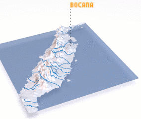 3d view of Bocana