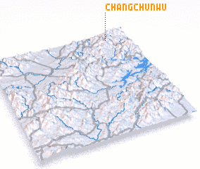3d view of Changchunwu