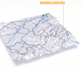3d view of Huangjiaping