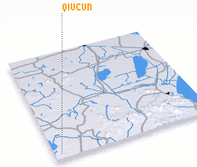 3d view of Qiucun